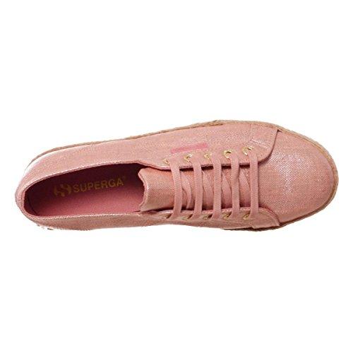Superga 2730 Linrbrropew Damen, Canvas, Sneaker Low