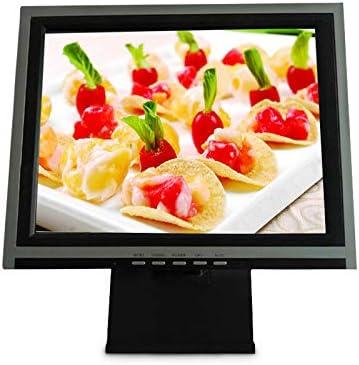 Monitor LCD de 15 pulgadas con pantalla táctil, sistema de cass, TFT VGA USB, pantalla de monitor, PC Windows 7 / 8 POS, para restaurante, cafetería, quiosco, bar: Amazon.es: Informática