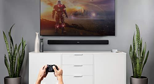 Denon DHT-S216 Home Theater Soundbar | Virtual Surround Sound | HDMI ARC | HD, 4K & Bluetooth Compatible | Low-Profile Design | Crystal Clear Dialogue
