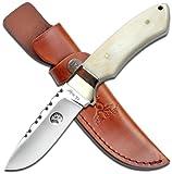 Elk Ridge ER-304BN Fixed Blade Knife, 8.5-Inch Overall