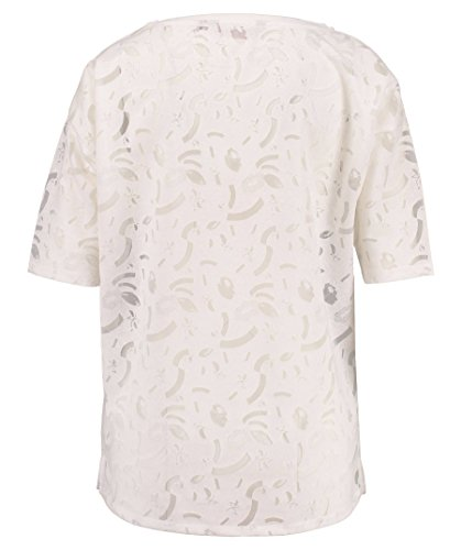 Garcia Jeans Damen T-Shirt offwhite (20) M