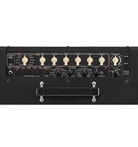 Vox VT20 + valvetronics + - amplificador guitarra de modelaje 20 Watts - Stock B: Amazon.es: Instrumentos musicales