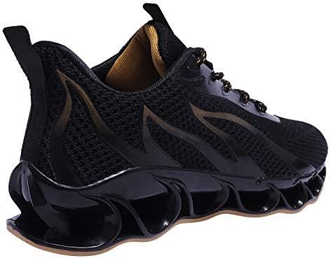 41DwEdFwYEL. AC APRILSPRING Mens Walking Shoes Fashion Running Sports Non Slip Sneakers    Product Description