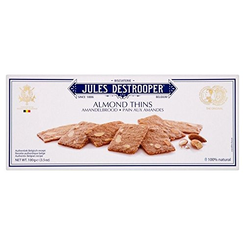 - Jules Destrooper Almond Thins (100g) - Pack of 6