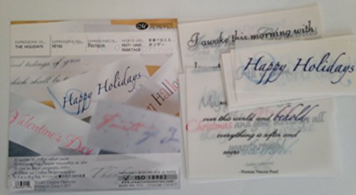Creative Memories Vellum Quotes (Expressions of Holidays) (Creative Memories Paper Pack)