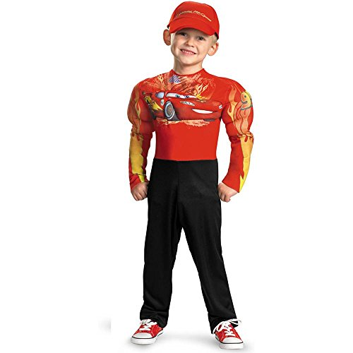 Lightning Mcqueen Classic Muscle Costume