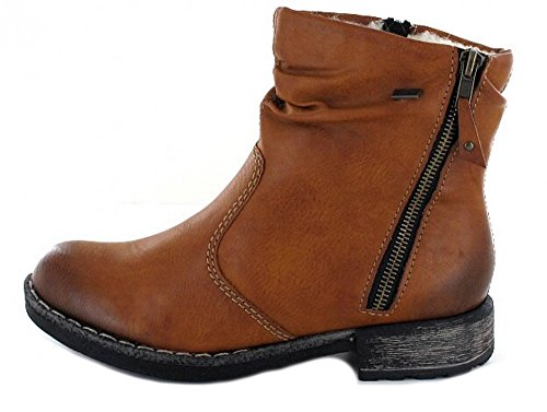 Stiefel Tex Lammwollfutter Membran 74673 on Rieker Schlupfstiefel Stiefelette Slip Boot Damen Boot qEwzvaxSzf