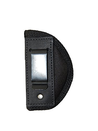 Barsony Holsters and Belts Baby Browning Seecamp Colt 25 Mini 22 25 380 Draw Inside The Waist Band, Black, Left Hand, Size 10