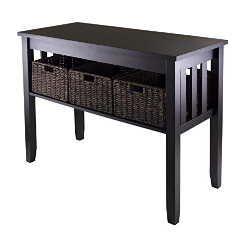 - Winsome 92452 Morris Occasional Table, Espresso