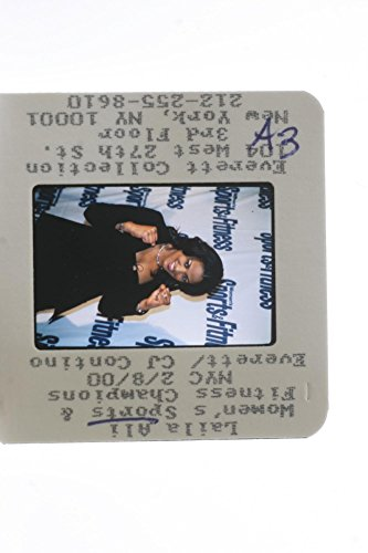 Slides photo of American former professional boxer Laila Amaria Ali at Women39;s Sports & Fitness Champions NYC 2000.