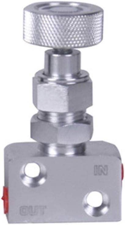 Free Size Matedepreso Universal Aluminium Auto Brems Force Regler Bremse Dosierung Band Ventil Einstellbar Knopf Schraube Typ Druckregler Silbern