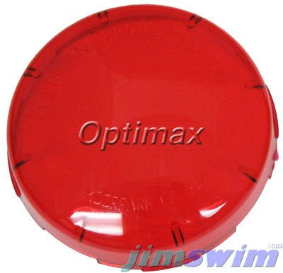 Pentair 79108900 Red Kwik-Change Plastic Snap-on Color Lens Cover Replacement SpaBrite/AquaLight Pool and Spa Light - Kwik Change Lens