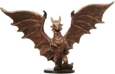 (D & D Minis: Medium Copper Dragon # 20 - Blood War)