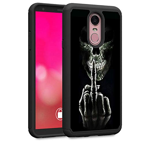 LG Stylo 4 Case, LG Stylo 4 Plus Case, LG Q Stylus Case, Rossy Heavy Duty  Hybrid TPU Plastic Dual Layer Armor Defender Protection Case Cover for LG