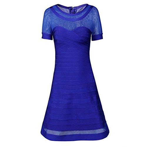 Kleid Blau Blau Damen Kleid Blau Blau Kleid Damen Blau Blau HLBCBG HLBCBG HLBCBG Damen RTqOwqP