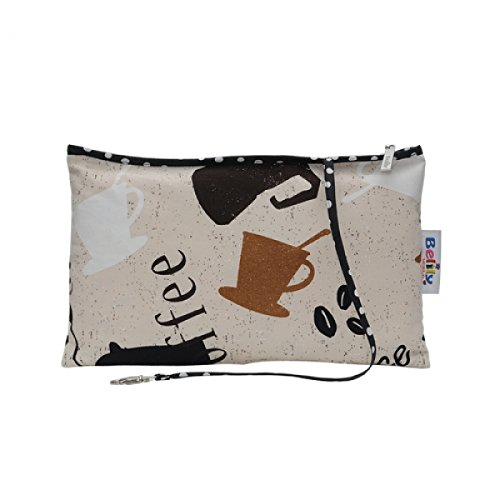 Cappuccino–Juego de bolsa de pañales bolso de la compra