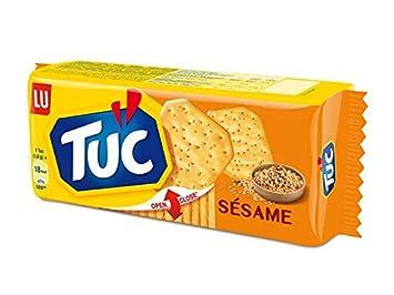 Tuc Snack Cracker galleta – Sesame – 8 x 3.52oz/100 g Pack ...