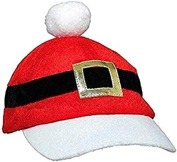 Suzen95 American Flag Fish Fashionable Christmas Santa Baseball Cap Christmas Accessory