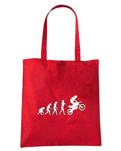 Speed Shirt Borsa Shopper Rossa OLDENG00767 MOTOCROSS