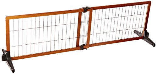 Carlson-68-Inch-Wide-Adjustable-Freestanding-Pet-Gate-Premium-Wood