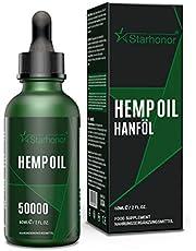 Starhonor® Premium oliedruppels met certificaat bevat onverzadigde omega-vetzuren 100% veganistisch (60000 mg 60 ml)