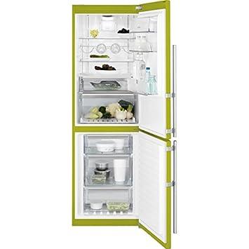 Electrolux En3488moj Freestanding 312L A + + Green Fridge And Freezer U2013  Freestanding Fridge Freezer,