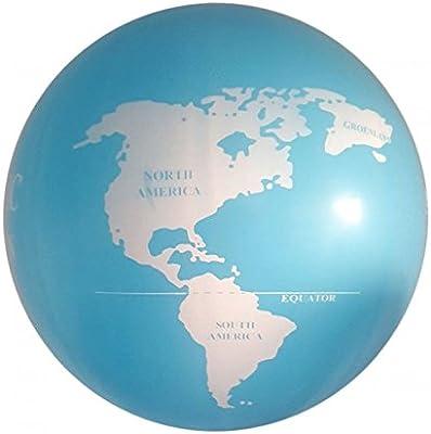 Mapa del Mundo Inflable - 1 metro!: Amazon.es: Juguetes y juegos