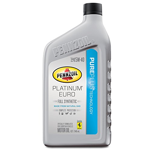 Pennzoil 550040834 Platinum 5W 40 Synthetic