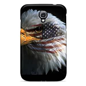 Hot Snap-on American Patriot Hard Cover Case/ Protective Case For Galaxy S4