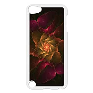 SYYCH Phone case Of Fractal Art Flowers Cover Case For Ipod Touch 5