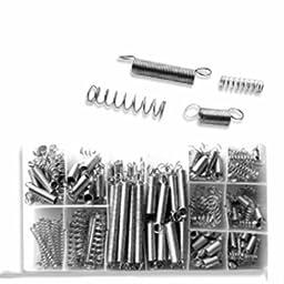 Box of Small Metal Bulk Loose Steel Coiled Springs Assortment Kit