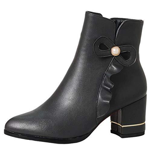 Classic Boot Women's Classic Grey AIYOUMEI Classic Women's Grey Women's AIYOUMEI Grey Boot AIYOUMEI Boot qTqwAPg