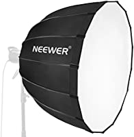 Neewer Hexadecagon Softbox 36 inches/90 Centimeters with Blue Rim and Bowens Mount, Portable and Quick Folding Softbox...