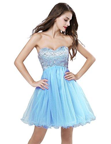 in stock short prom dresses - 7