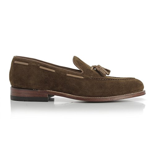 G.H. Bass Co. Men's Monogram Tassel Loafer II Tan Suede Q9OySk