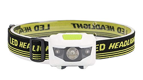 EMBLAPRO LED Mini Headlamp, 1000 Lumens IPX5 Headlamp with 4 Working Modes, Suitable for Camping, Hunting, Fishing, Cycling, Running, Hiking and Walking Dogs