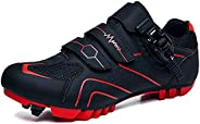 KOYODA Unisex Cycling Shoes Compatible Indoor Road Bike Shoes Riding Shoes for Men and Women Look Delta Cleats