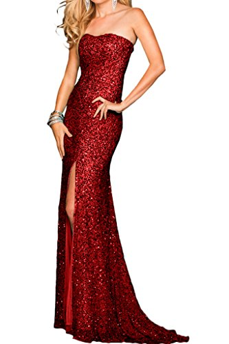 Promgirl House - Robe - Crayon - Femme -  Rouge - 44