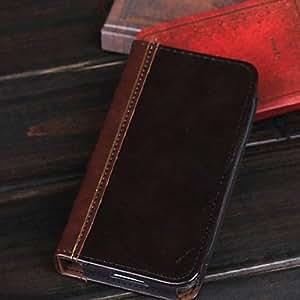 YULIN el estilo de la alta calidad de los libros que restaura maneras antiguas cáscara de la protección del teléfono móvil para i9600 Samsung