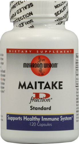 Grifron Maitake D-Fraction Standard Capsules, 120 Count
