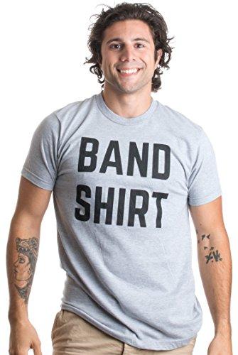 Band Shirt | Funny Random Humor, Rock and Roll Concert Festival Unisex T-shirt-(Adult,XL)
