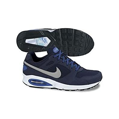 Nike Air Max Coliseum Racer Leather BlueSilver Mens Running Shoes