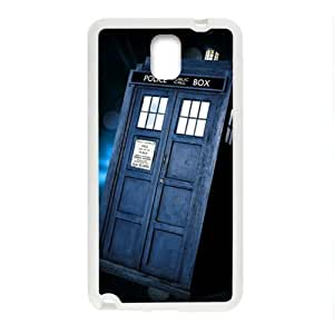 DAHAOC Doctor Who's TARDIS Cell Phone Case for Samsung Galaxy Note3