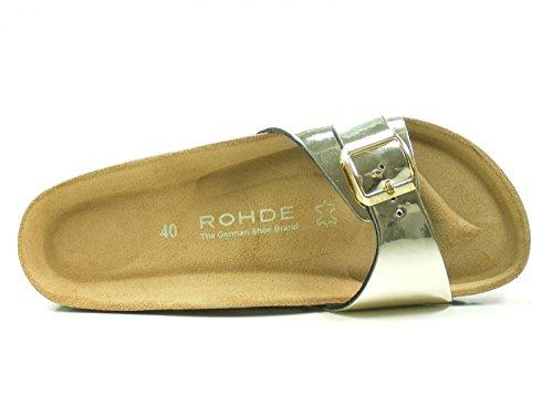 Rohde Alba, Mules Femme, Braun (Kupfer) Or (Gold 29)