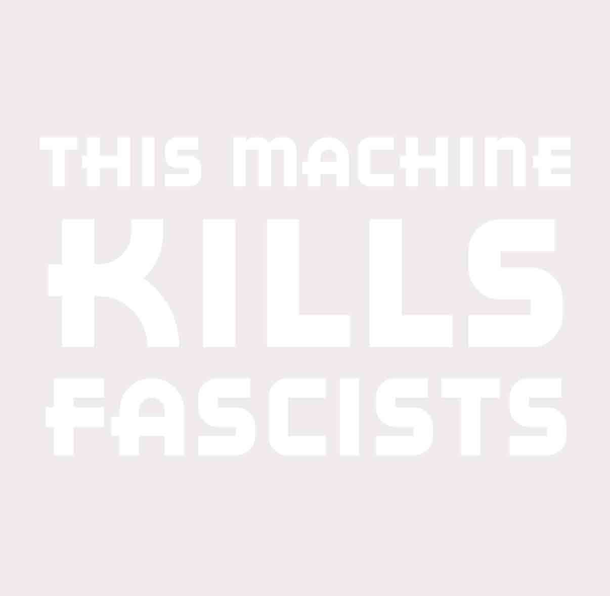 This Machine Kills Fascists 2016 Political Commentary 6 Inch Vinyl Decal For Car Window Black Exterior DOOMSDAYDECALS