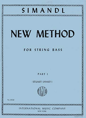 Simandl - New Method for String Bass Part 1