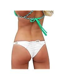 Imixshopcs Womens Brazilian G-string Triangle Thongs Bikini Beach Underwear
