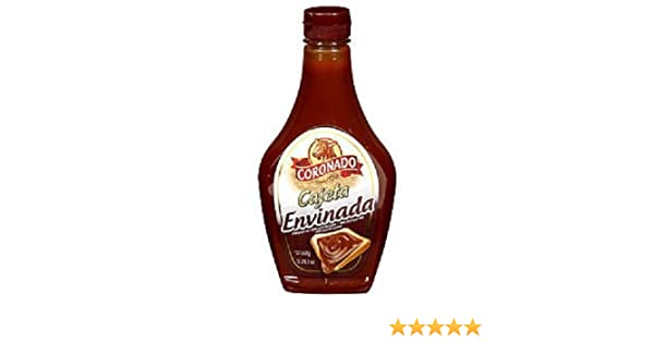 Amazon.com : Coronado Cajeta Envinada Leche De Cabra Dulce Goat Milk Candy 23oz From Mexico : Caramel Candy : Grocery & Gourmet Food