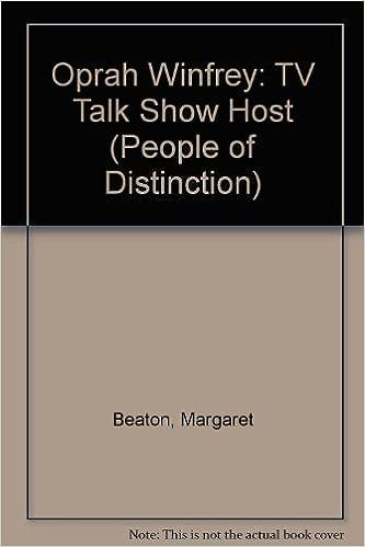 Ranskan äänikirjat latautuvat Oprah Winfrey: TV Talk Show Host (People of Distinction) by Margaret Beaton Suomeksi ePub