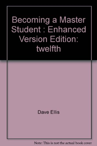 Becoming a Master Student : Enhanced Version